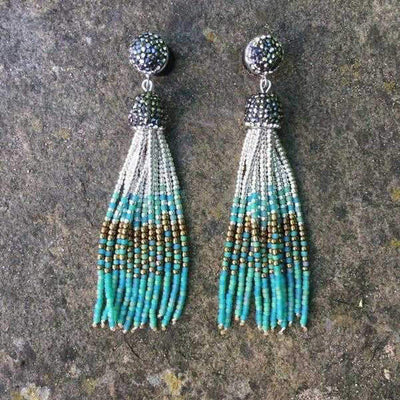 Guanabara Bohemia Earrings-Earrings-Freya Branwyn