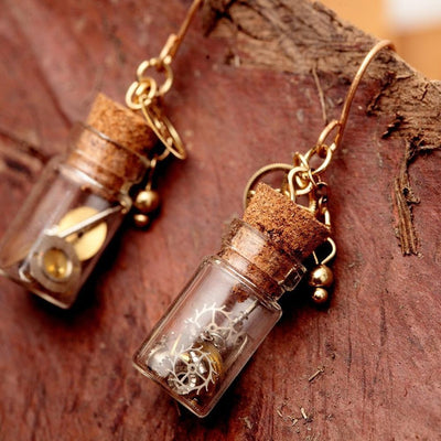 Handmade Potpourri Earrings-Earrings-Freya Branwyn