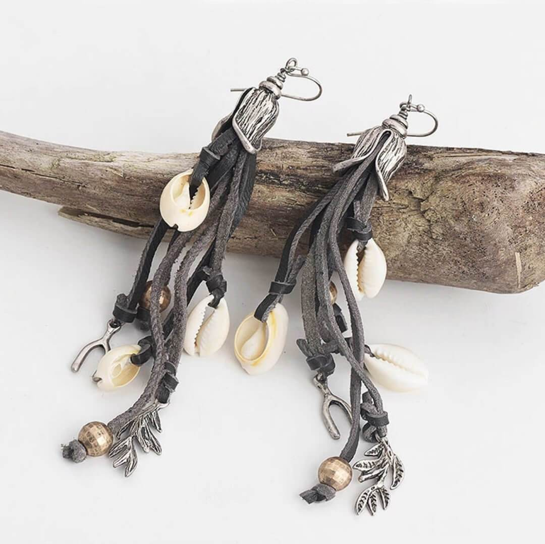 Lamai Beach Earrings-Earrings-Freya Branwyn