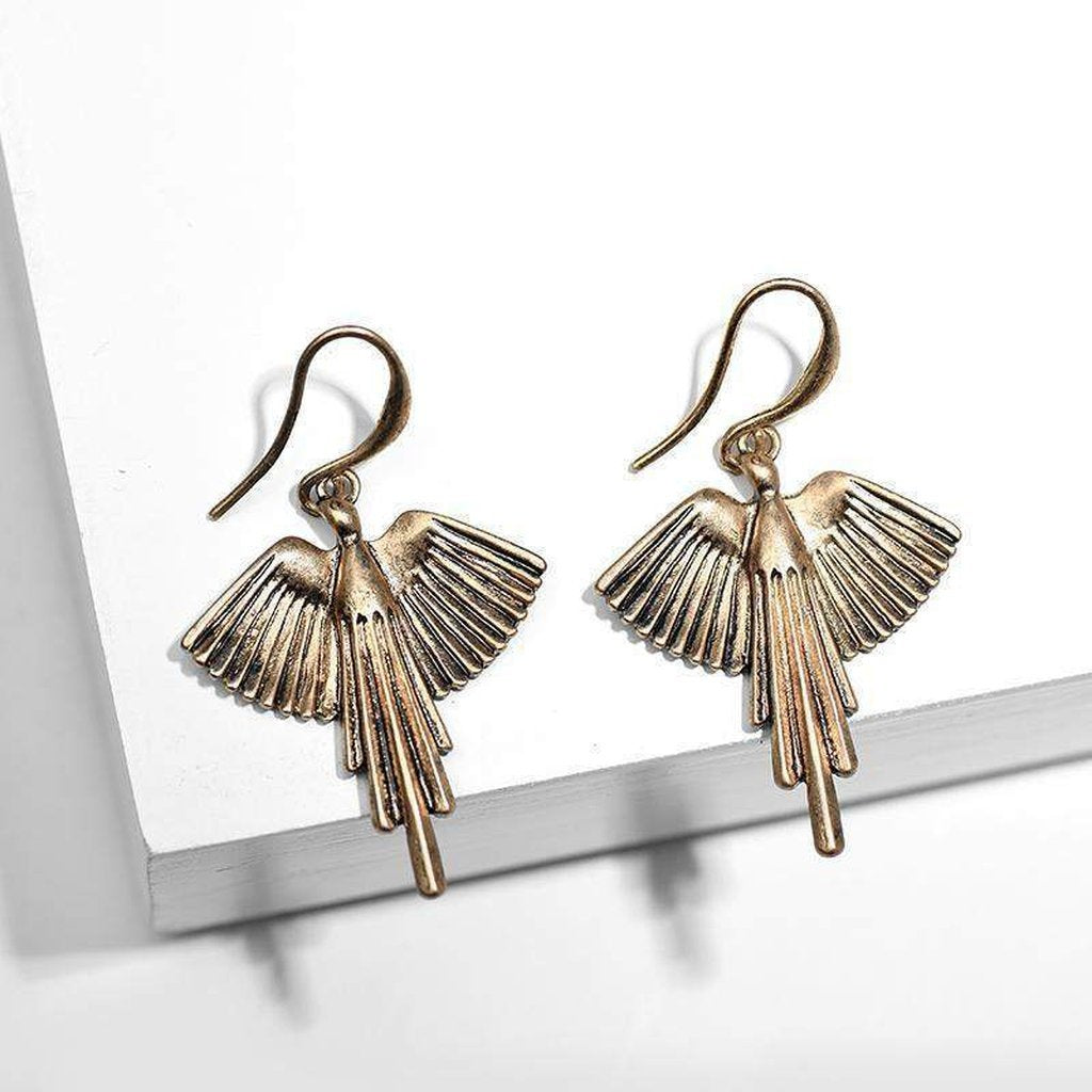 Phoenix Earrings-Earrings-Freya Branwyn