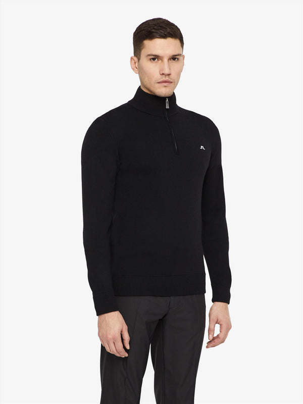 J LINDEBERG KIAN TOUR MERINO MEN'S GOLF SWEATER - Miami Golf
