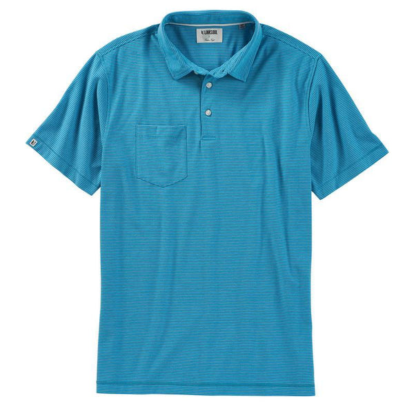 LINKSOUL EDWARDS STRIPE POLO - Miami Golf