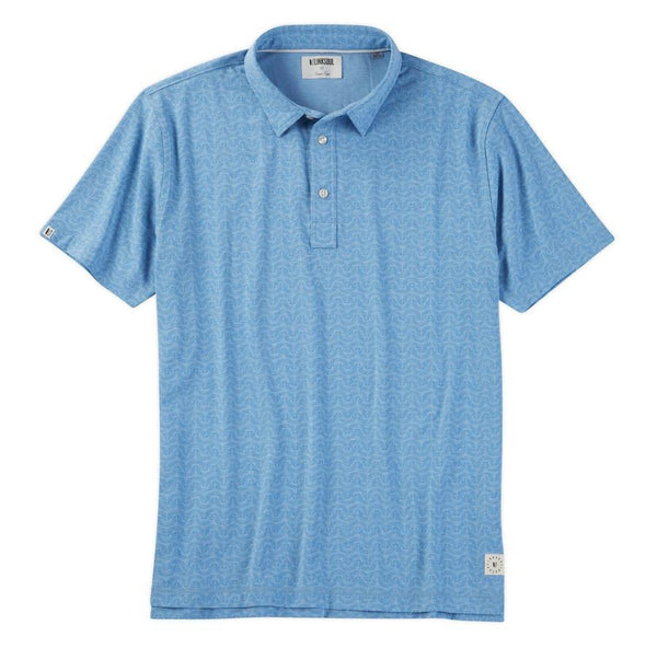 LINKSOUL TONAL PRINT POLO - Miami Golf