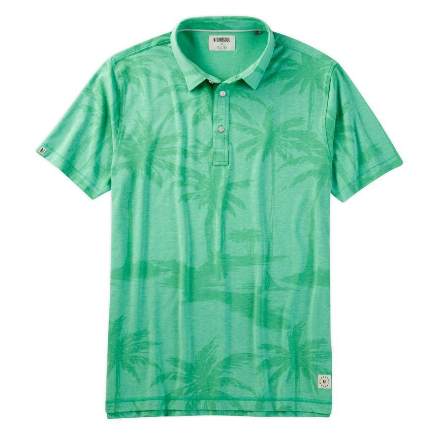 LINKSOUL DRYTECH TONAL PRINT SHIRT - Miami Golf