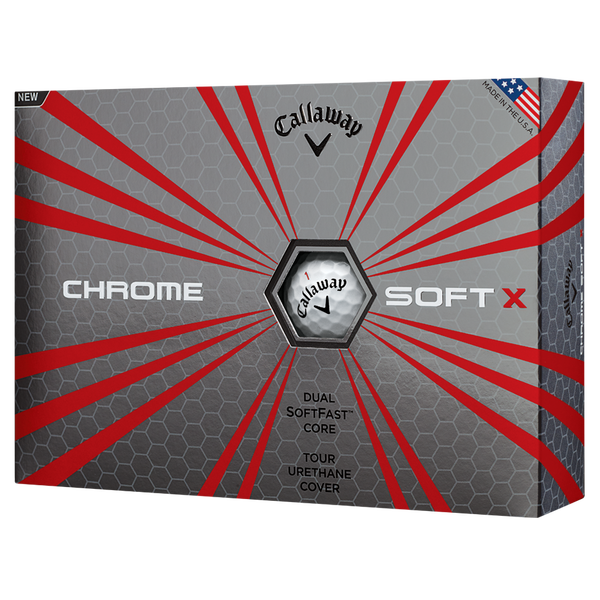 CALLAWAY CHROME SOFT X GOLF BALLS - Miami Golf