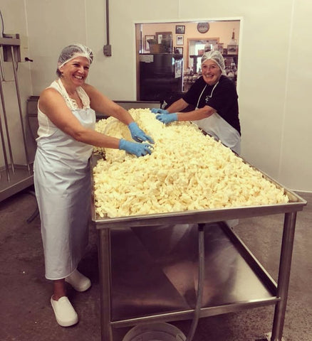 Boston Post Dairy Making Cheese Curds | Revittle