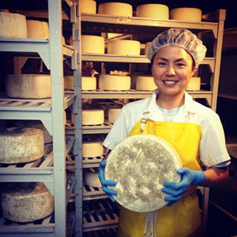 Haystack Mountain Creamery's Cheesemaker Jackie Chang