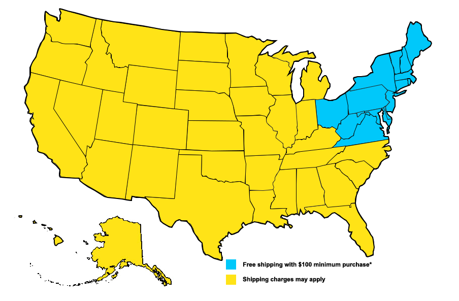 Shipping Map for Robinson Farm   Revittle