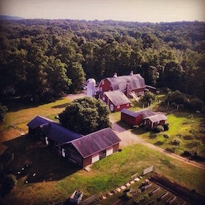 Sprout Creek Farm Overhead Photo | Revittle