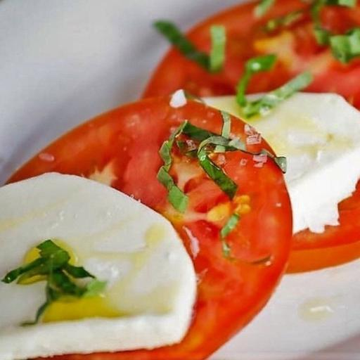 Mozzarella Company Long Mozzarella on a Caprese Salad | Revittle
