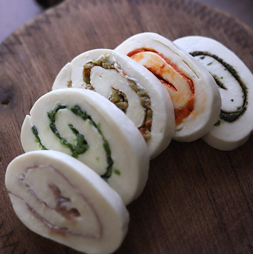 Mozzarella Company Sun-Dried Tomato Mozzarella Roll | Revittle