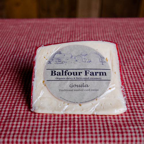 Balfour Farm Gouda Cut and Labeled | Revittle
