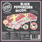 Black Peppercorn Bacon Label | Revittle