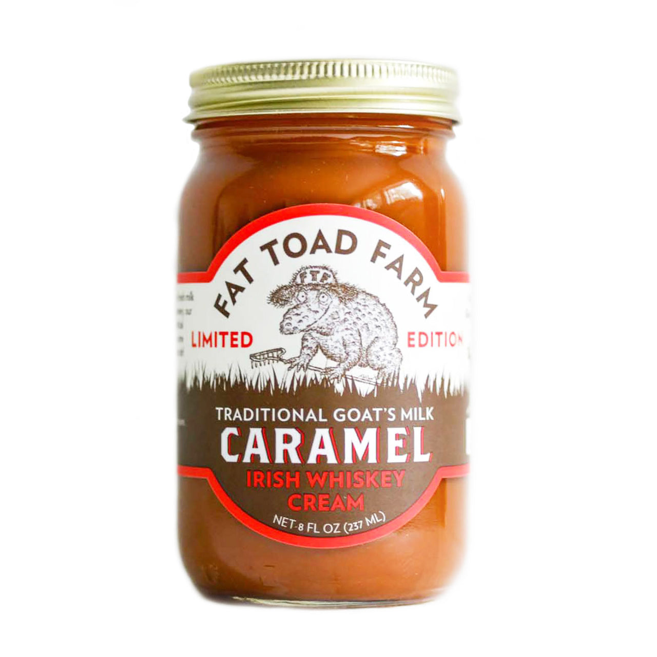 Fat Toad Farm Goat's Milk Caramel Irish Whiskey Cream | Revittle