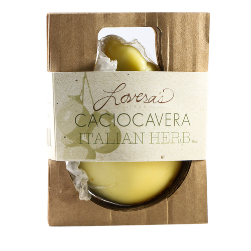 Lovera's Hand-Formed Italian Herb Caciocavera | Revittle