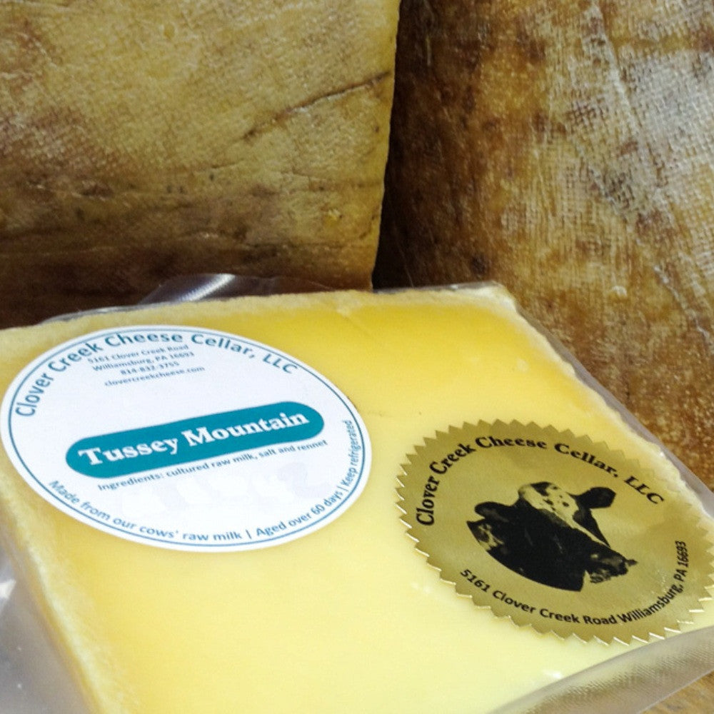 Clover Creek Cheese Cellar Tussey Mountain Emmentaler Swiss | Revittle