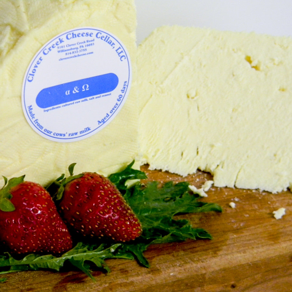 Clover Creek Cheese Cellar Alpha and Omega | Revittle