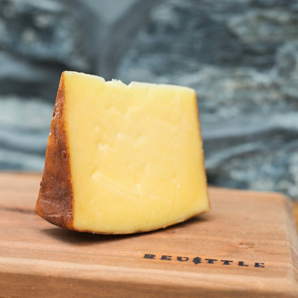Clover Creek Cheese Cellar Smoked Galen's Gouda | Revittle
