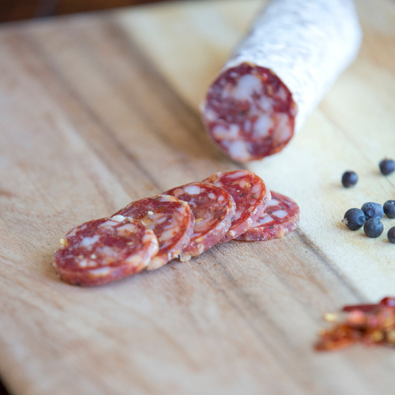 Il Porcellino Salumi Spiced Juniper | Revittle