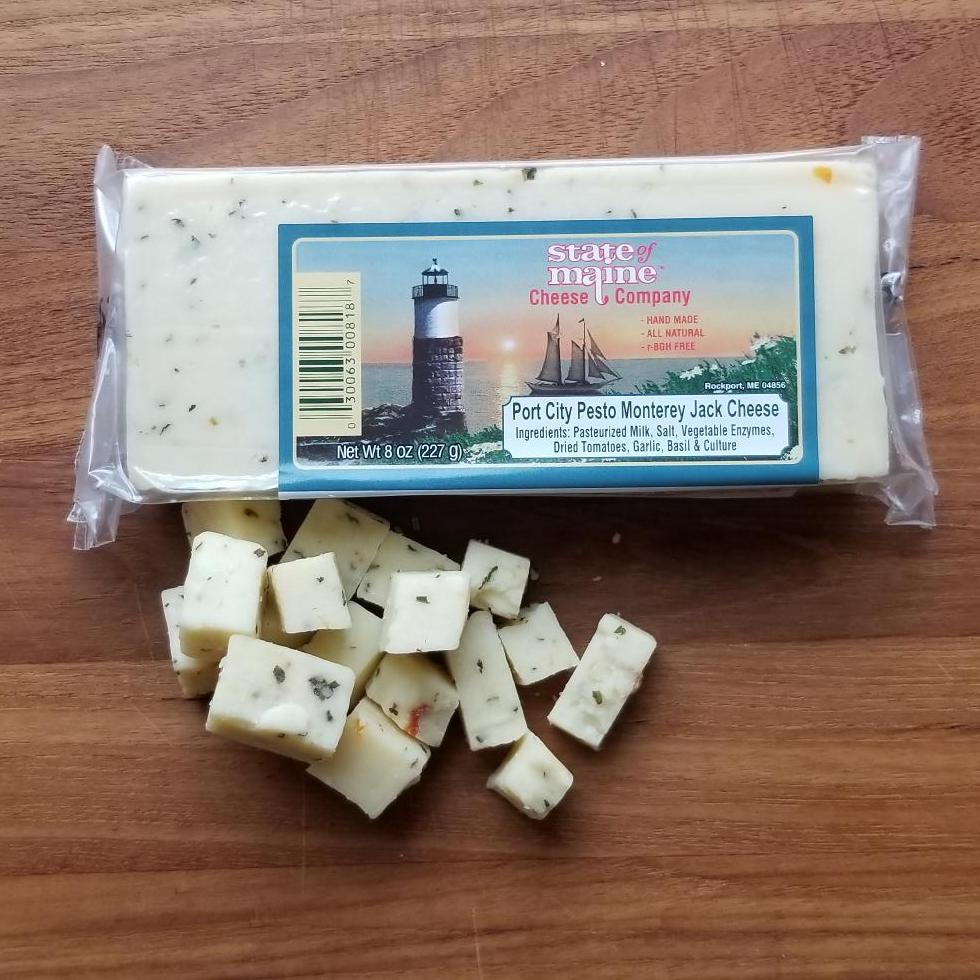 State of Maine Port City Pesto Monterey Jack | Revittle