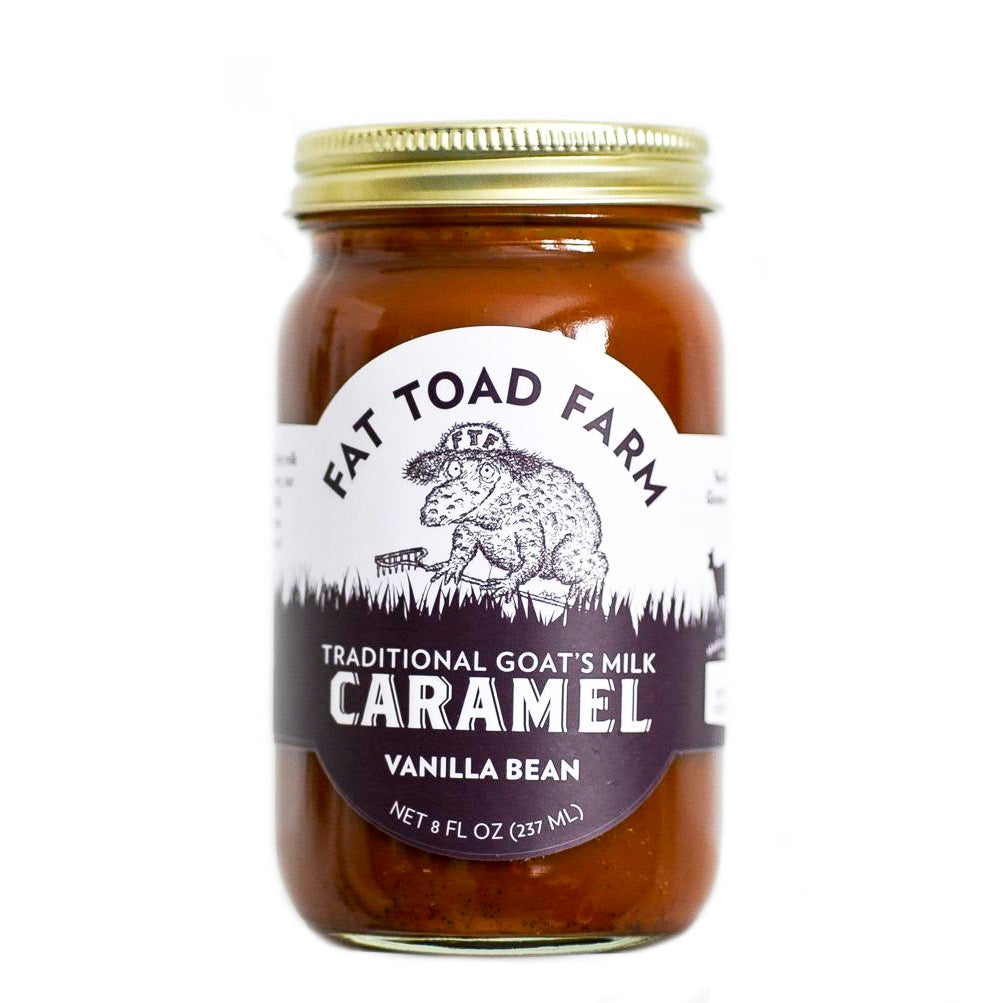 Fat Toad Farm Goat's Milk Caramel Vanilla Bean | Revittle