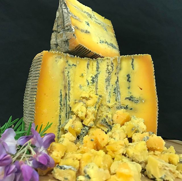 Lovera's Cheese Company's Bleu Thunder Gorgonzola Wheel | Revittle