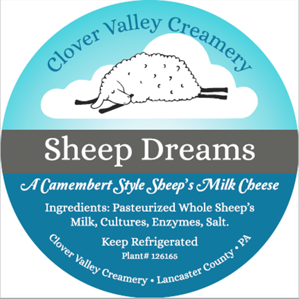 Clover Valley Sheep Dreams Camembert