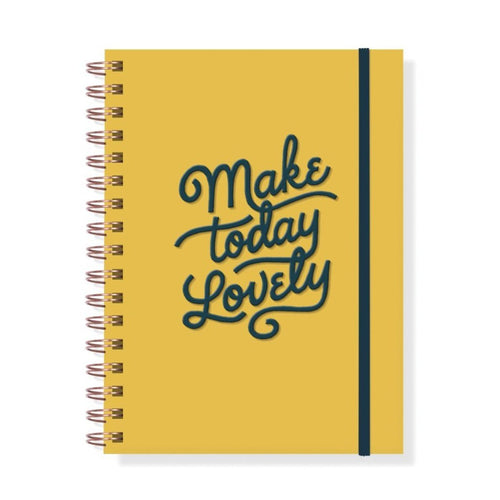 MAKE TODAY NOTEBOOK