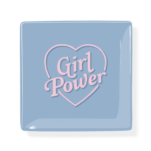 GIRL POWER SQUARE TRAY