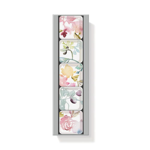 FLORAL SQUARE MAGNETS