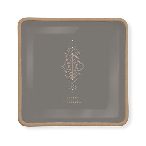 EXPECT MIRACLES SQUARE TRAY SMALL