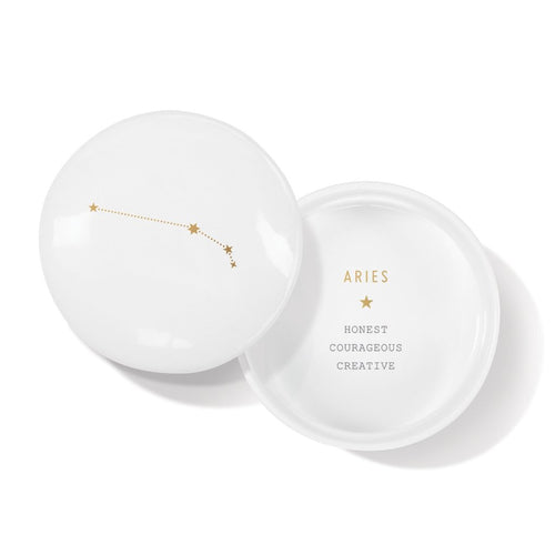 ARIES TRINKET ROUND BOX