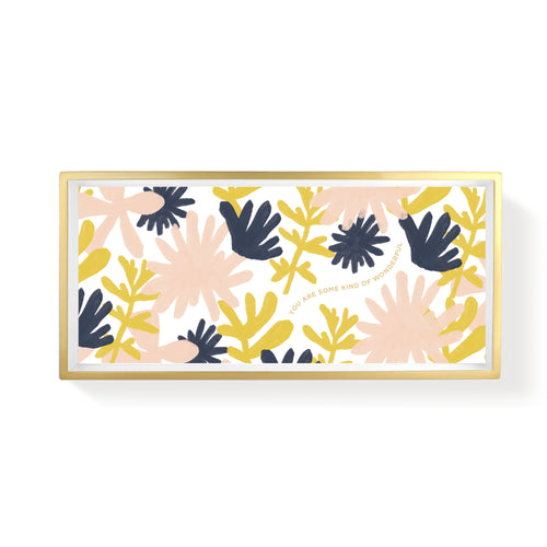 BOLD FLORAL DESERT PENCIL TRAY