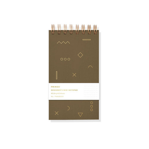 GEO MINI DESIGNER'S NOTEPAD