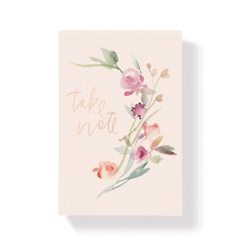 GARLAND FLORAL LARGE NOTEPAD
