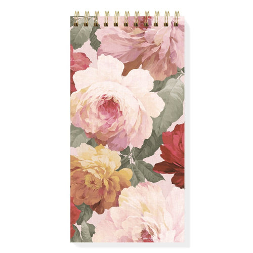 LARGE ROSE BLUSH SPIRAL NOTEPAD