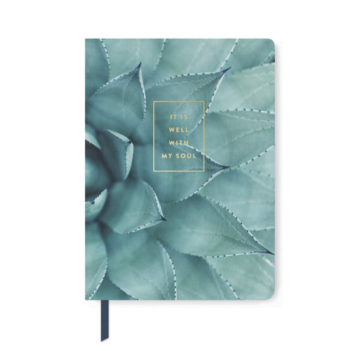 COOL SUCCULENT PAPERBACK NOTEBOOK