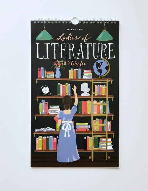 LADIES OF LITERATURE 2019 CALENDAR