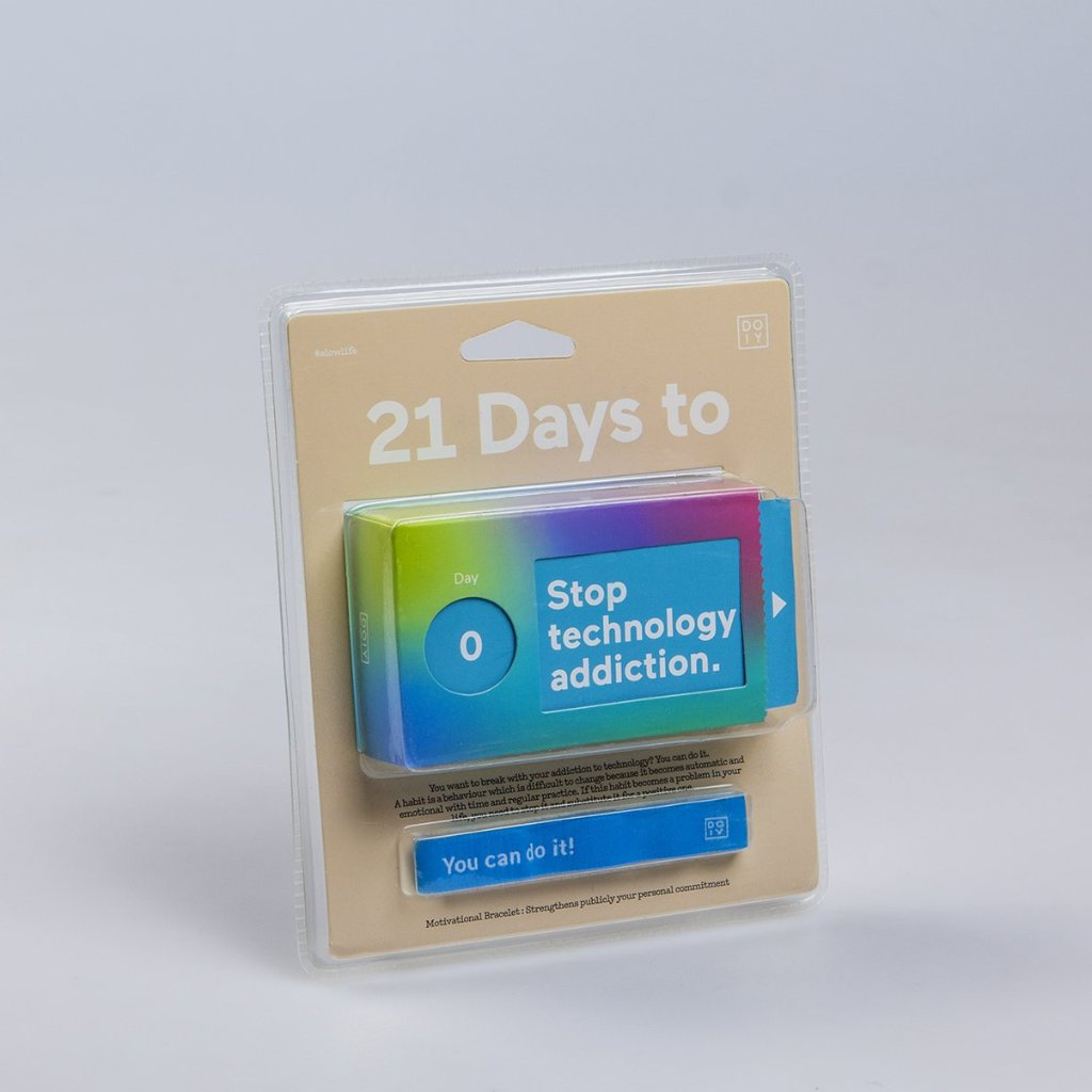 21 DAYS TO STOP TECHNOLOGY ADDICTION