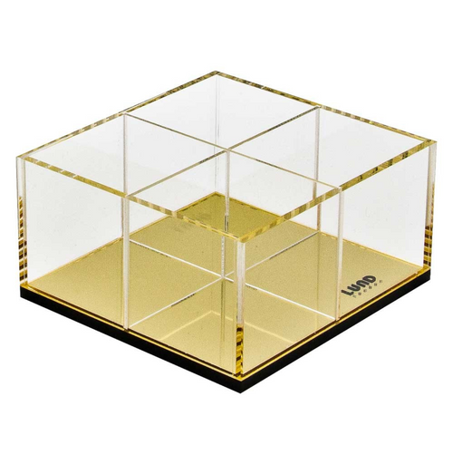 FLASH GOLD SQUARE ORGANIZER