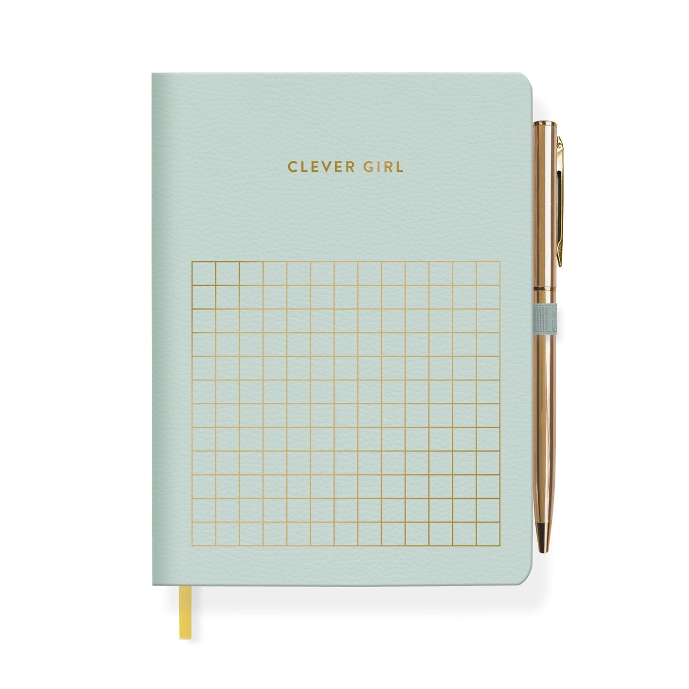 CLEVER GIRL JOURNAL WITH SLIM PEN