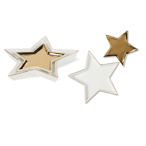 NESTED STAR TRINKET DISH