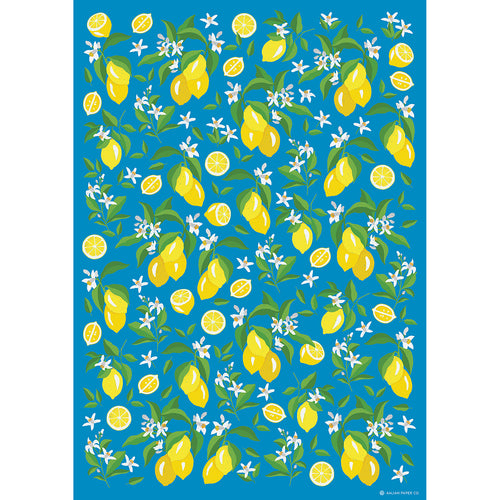 Lemon Flower Wrap