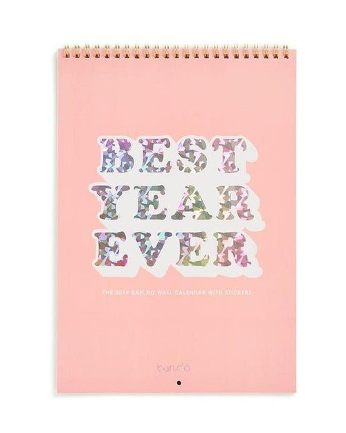 BEST YEAR EVER 2019 CALENDAR