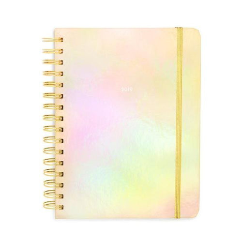 2019 MEDIUM PLANNER - GOLD HOLOGRAPHIC