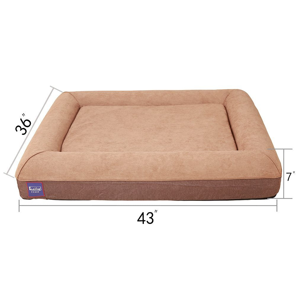 by brown canvas companion beds chocolate bed large dogs single cotton colours s dog