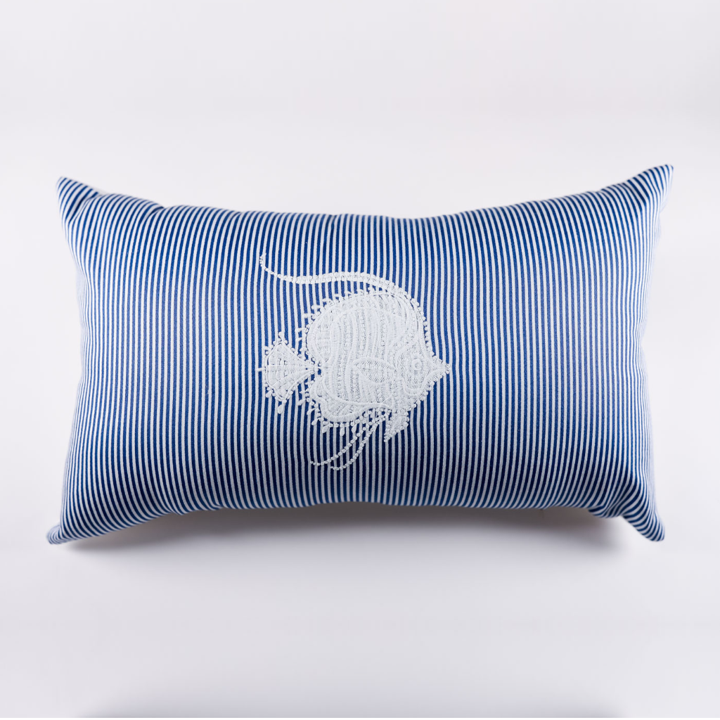 Blowfish Pillow