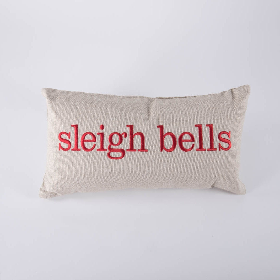 Sleigh Bells Pillow