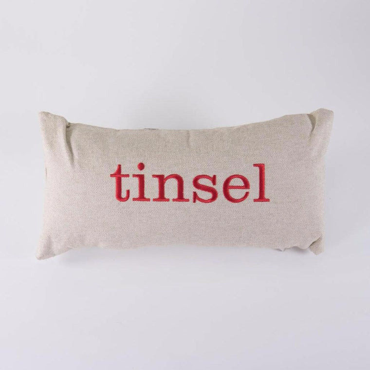 Tinsel Pillow