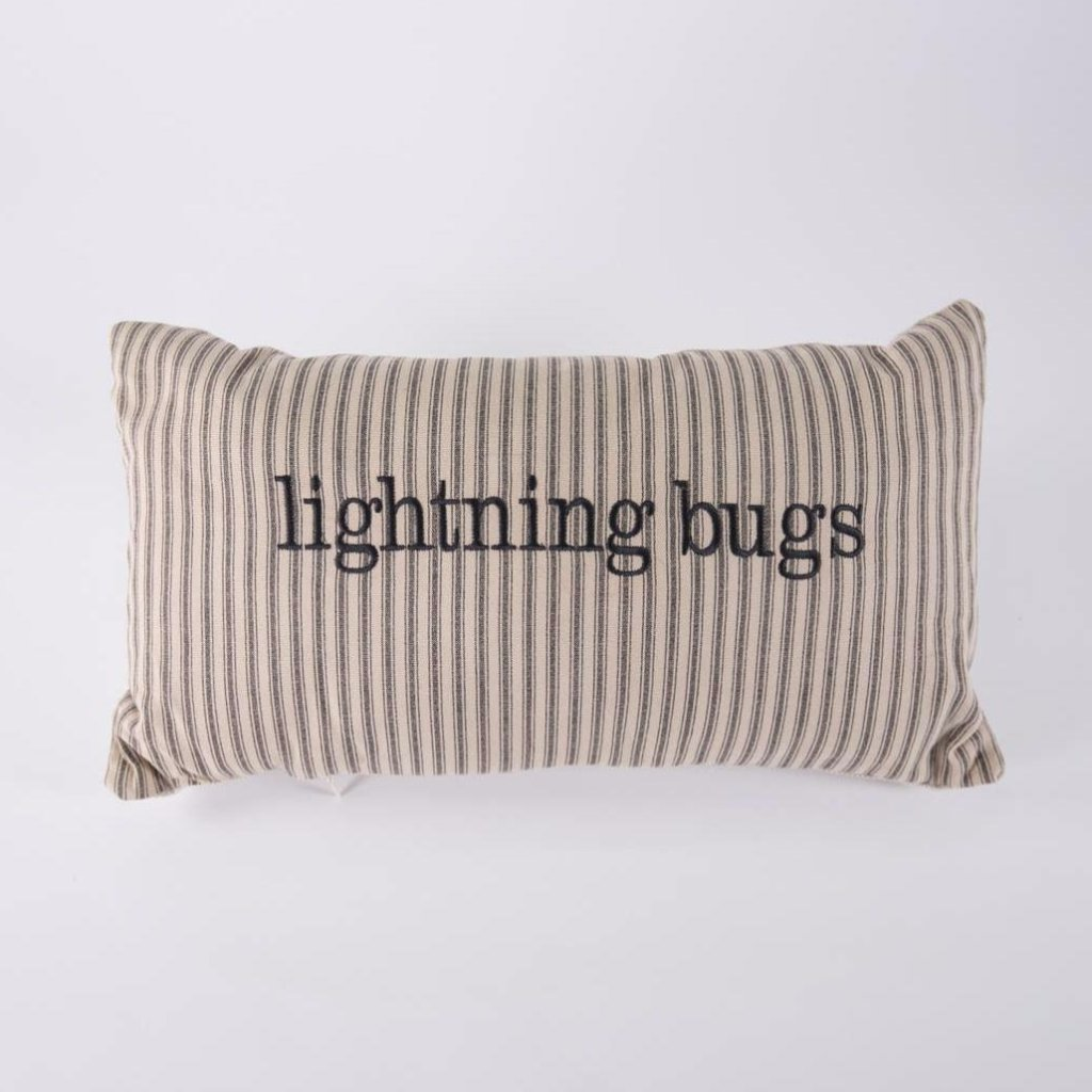Lightning Bugs Pillow